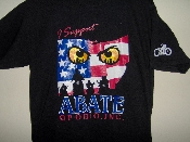 "**NEW**  ""I Support ABATE"" T-Shirt"