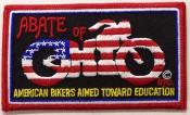"ABATE of Ohio,Inc. Ohio ""Bike"" Patch"