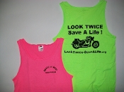"""Look Twice-Save A Life"" Tank Top"