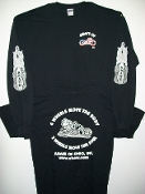 """Two Wheels"" Long Sleeve T-shirt"